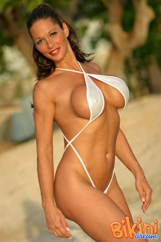 Micro bikini big tit porn