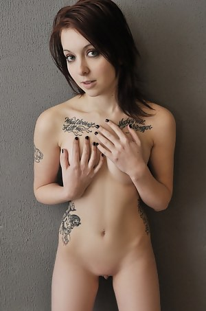 All girl tattoo with nude pics