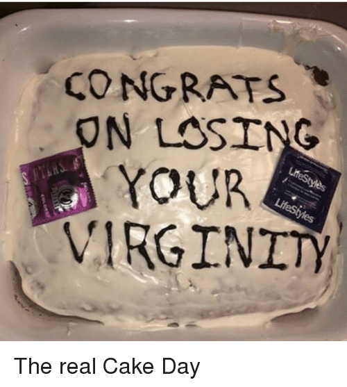 Day after losing virginity