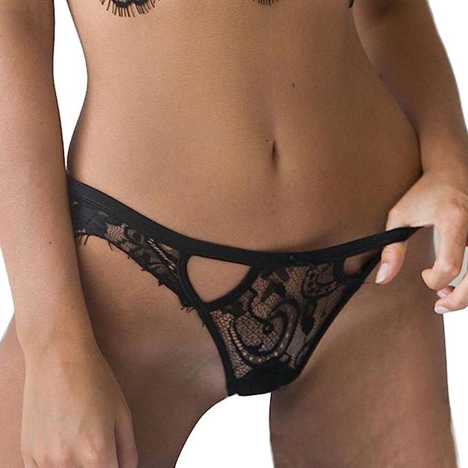Hot girls thong lingerie