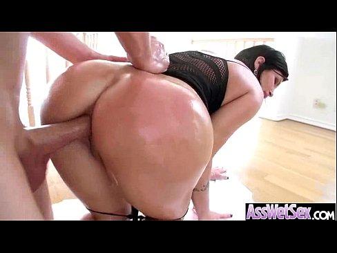 Big butt slut cum
