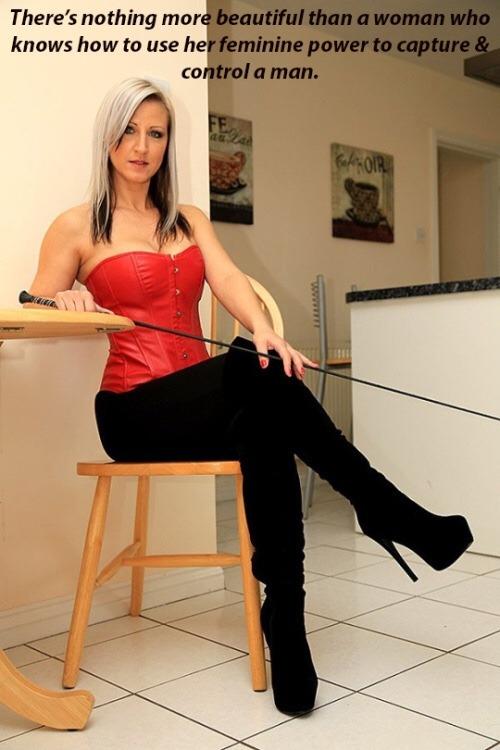 Femdom wife spanking captions