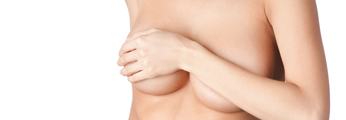 Cosmetic breast lift procedure