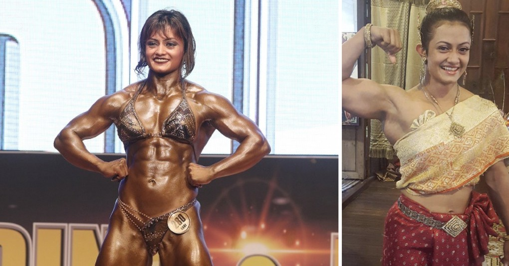Nude bodybuilder women compteshan