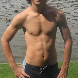 Teen boys body puberty
