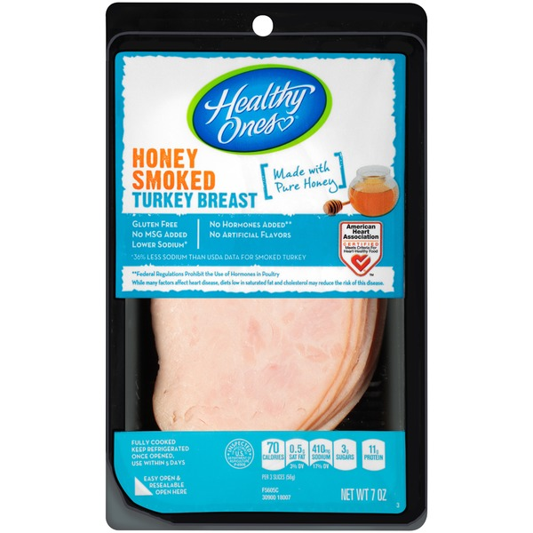Healthy ones turkey or chicken breast