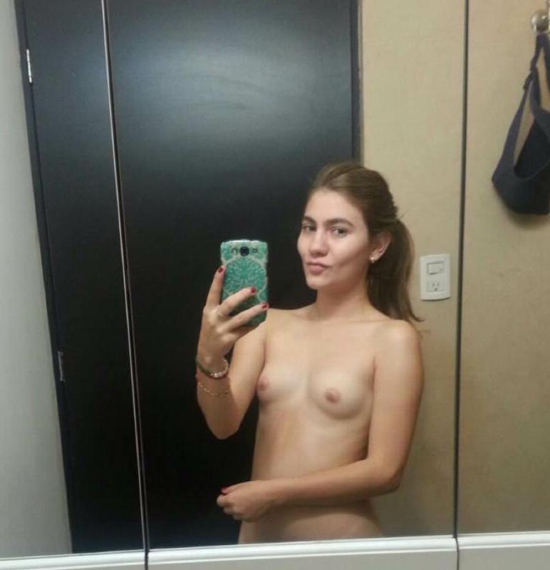 Amateur girl mirror nudes