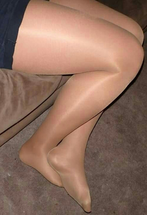 Always wear pantyhose when