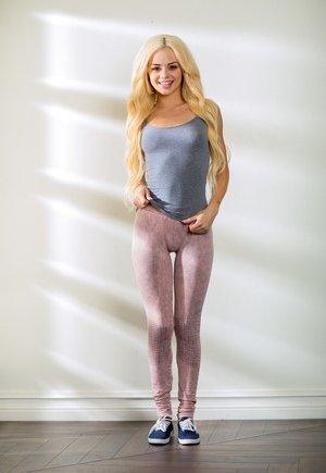 Pussy prints in yoga pants
