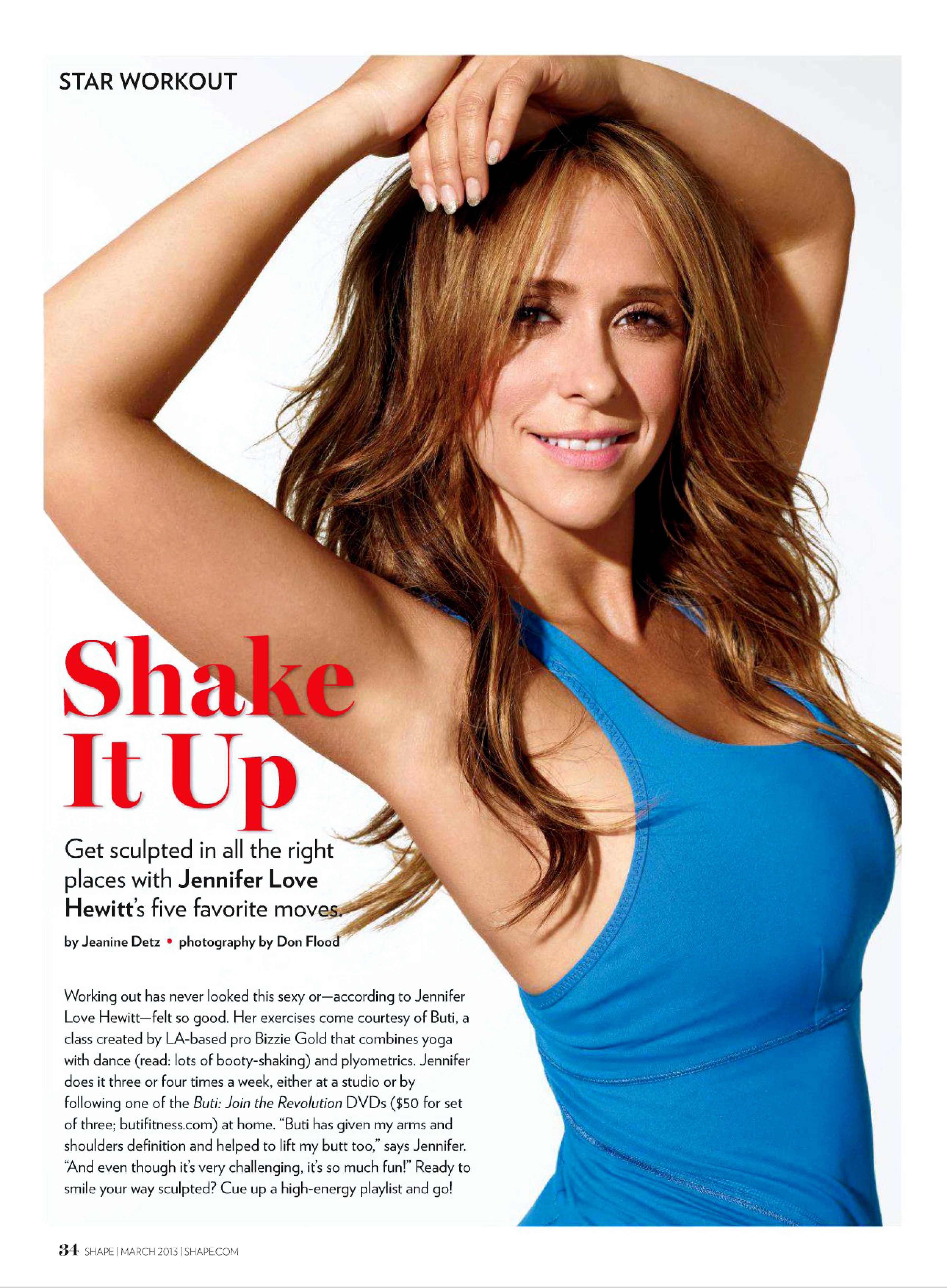 Jennifer love hewitt shape