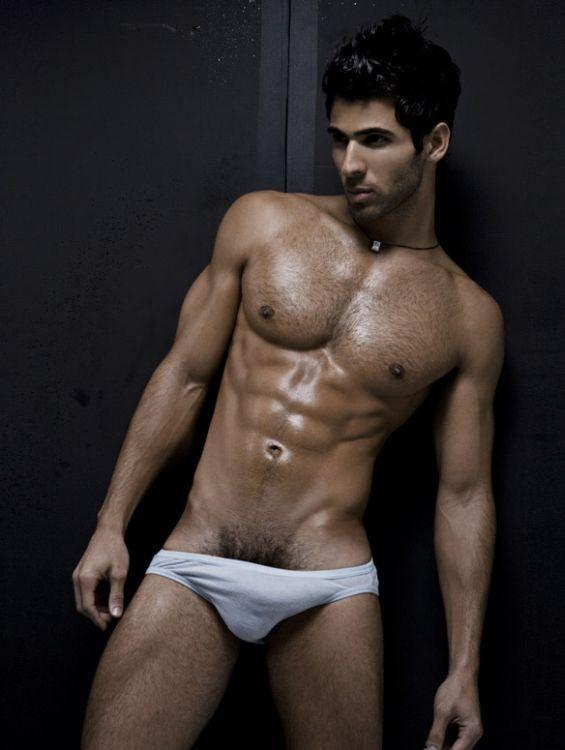 Big bulge men underwear model