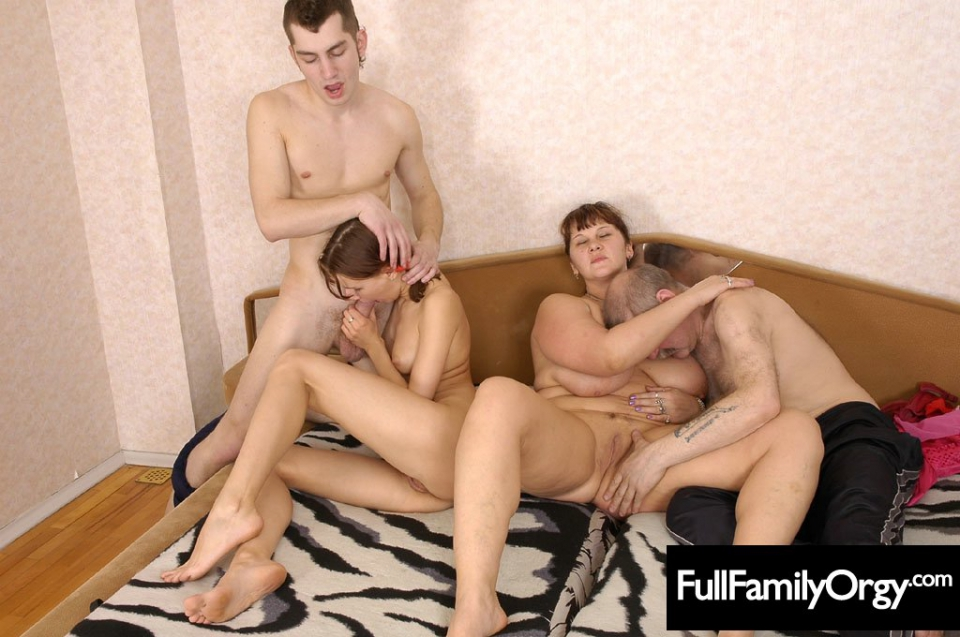 Real family orgy stories