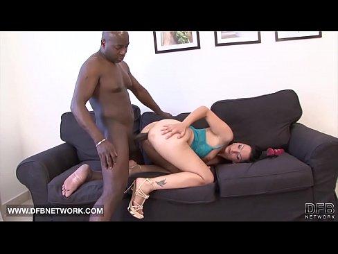Black man having sex white lady