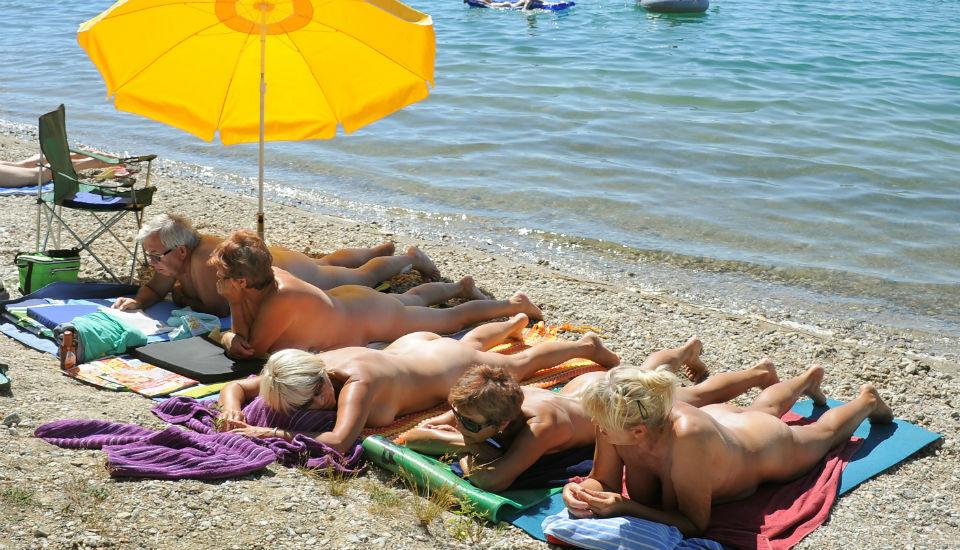 Swedish girl nude beach