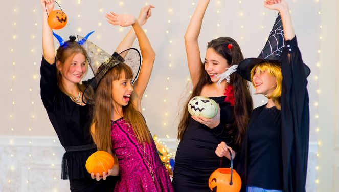 Halloween party ideas for teen agers