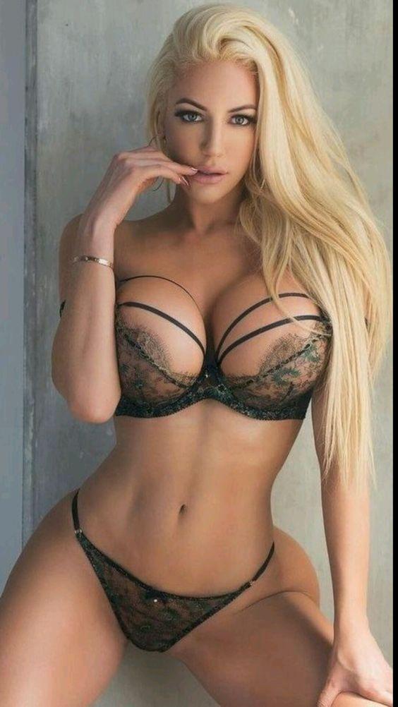 Beautiful busty women in lingerie