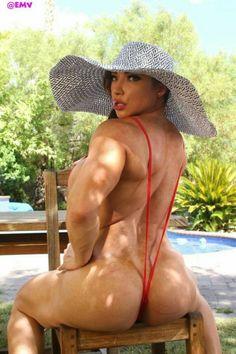 Muscle brandi mae nude