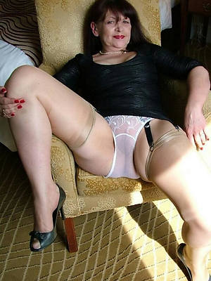 Mature models in wet panties
