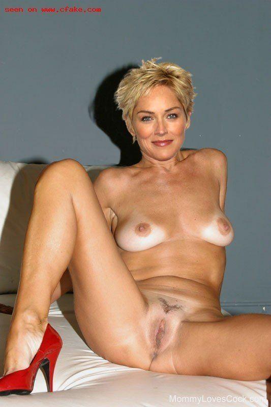 Sharon stone nude sucking cock