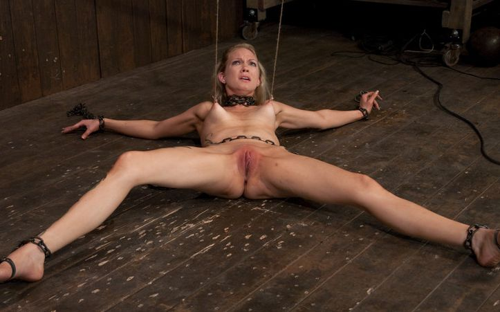 Naked girls extreme bondage