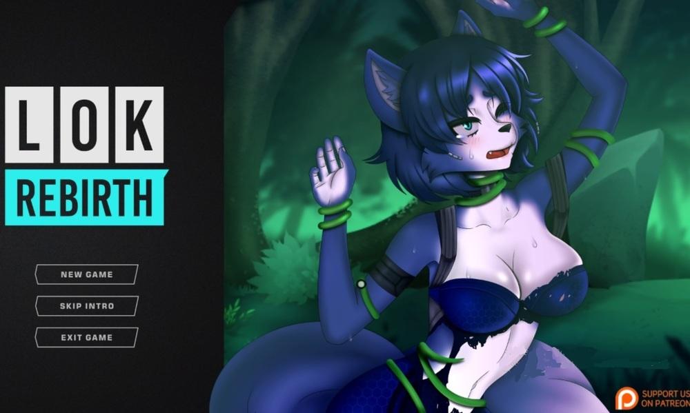 Furry fucked hentai game