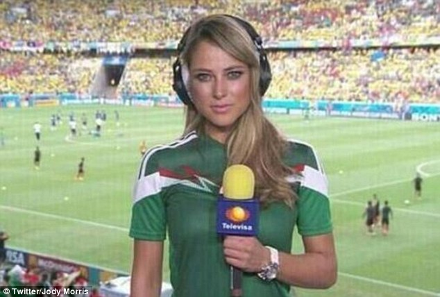 Sports reporter ines sainz