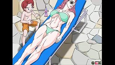 Mom sleep cartoon seks