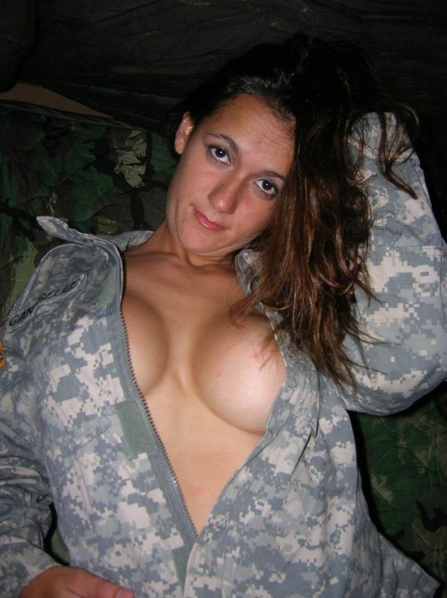 Nude military women army girls blowjob