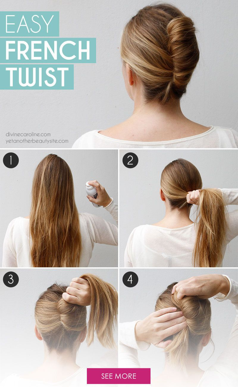 How to do french twist hairstyle
