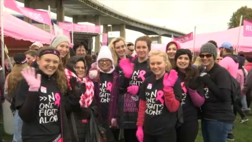 Breast cancer walk buffalo ny