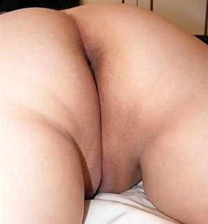 Fat ass and pussy