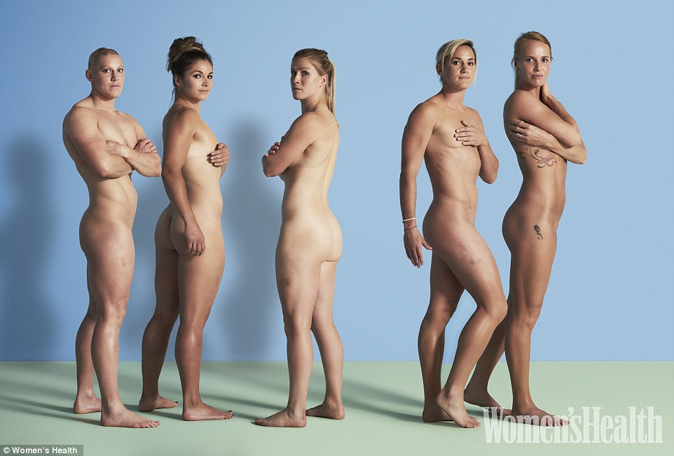 Naked british rugby players