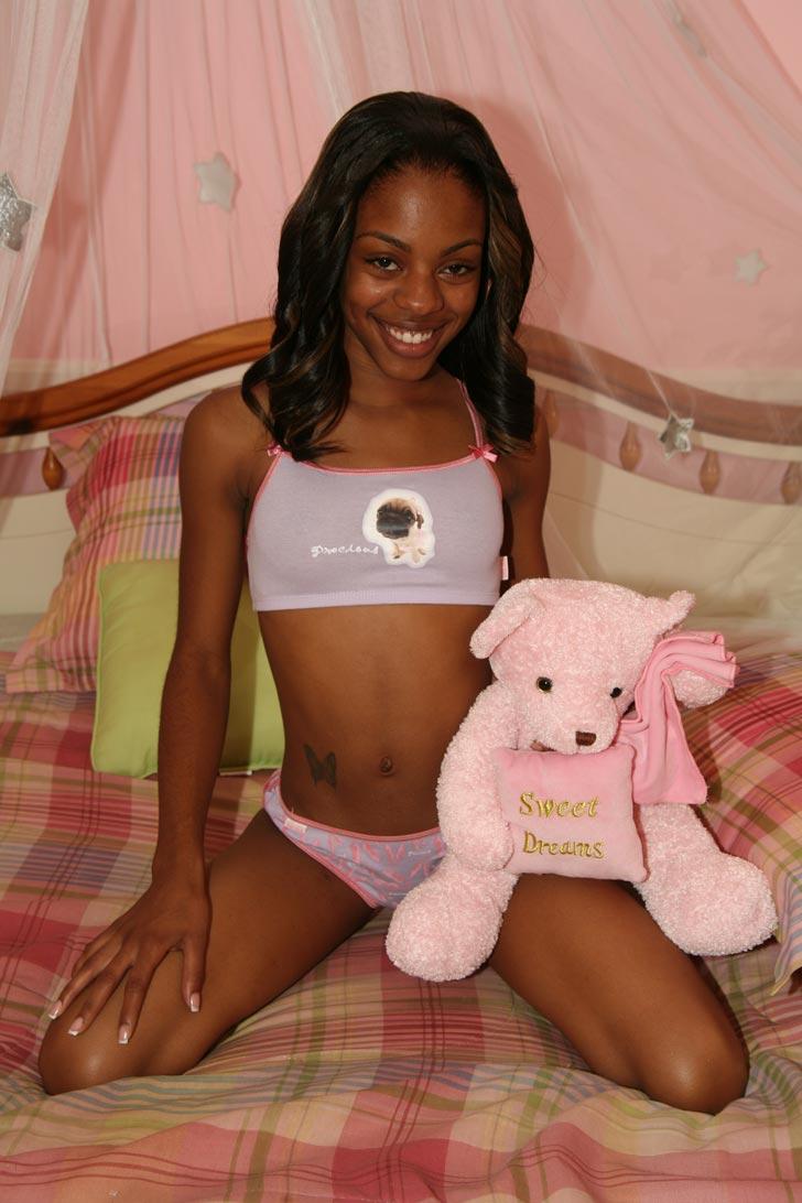Hot black teen slut