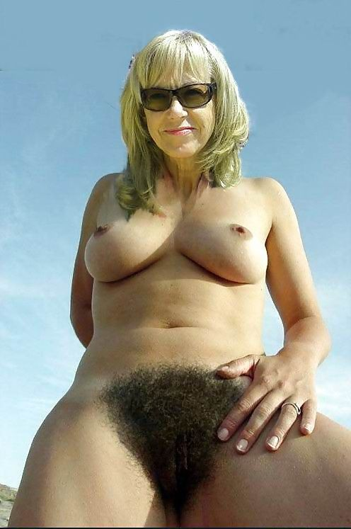 Very hairy pussy women
