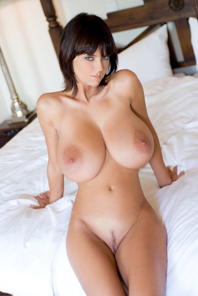 Large beauty naked boobs