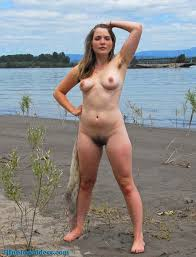 Nude beach black ladies hairy group