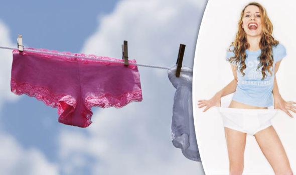 British girls wearing panties