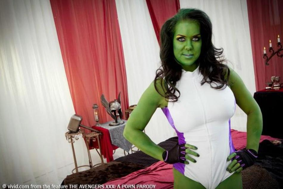 She hulk als cheerleader porn