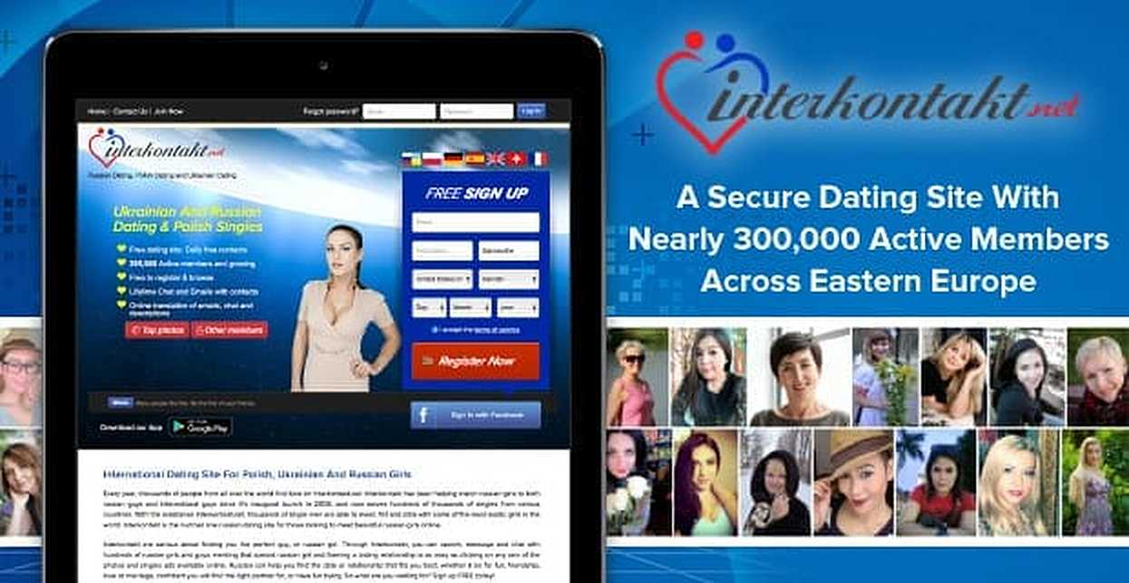 A new dating site in europe