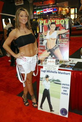 Playboy michelle manhart air force