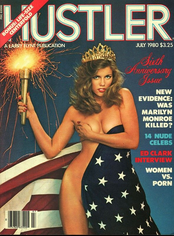 Hustler magazine black nude