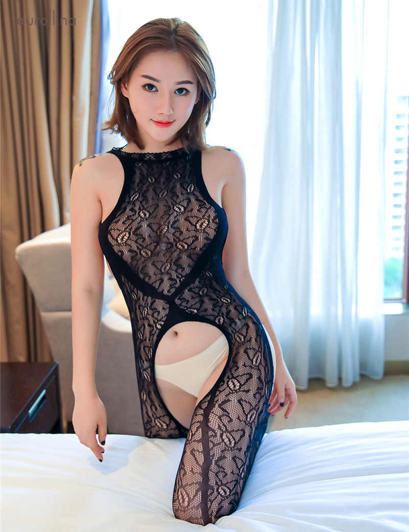 Hot asian girls in lingerie and stockings