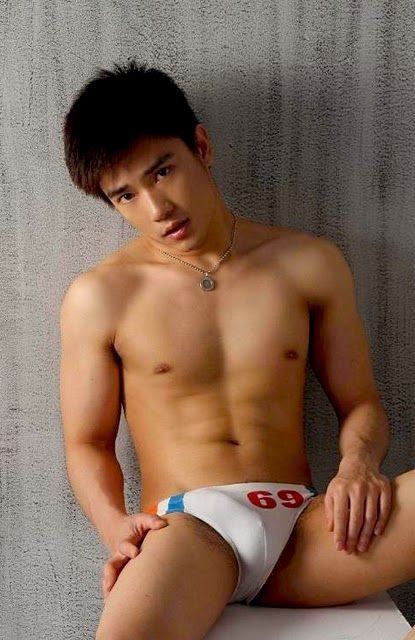 Cute asian speedo boys