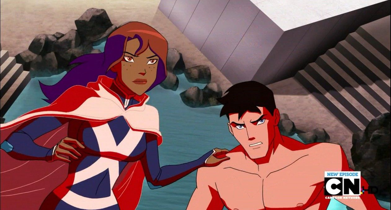 Superboy young justice bereft