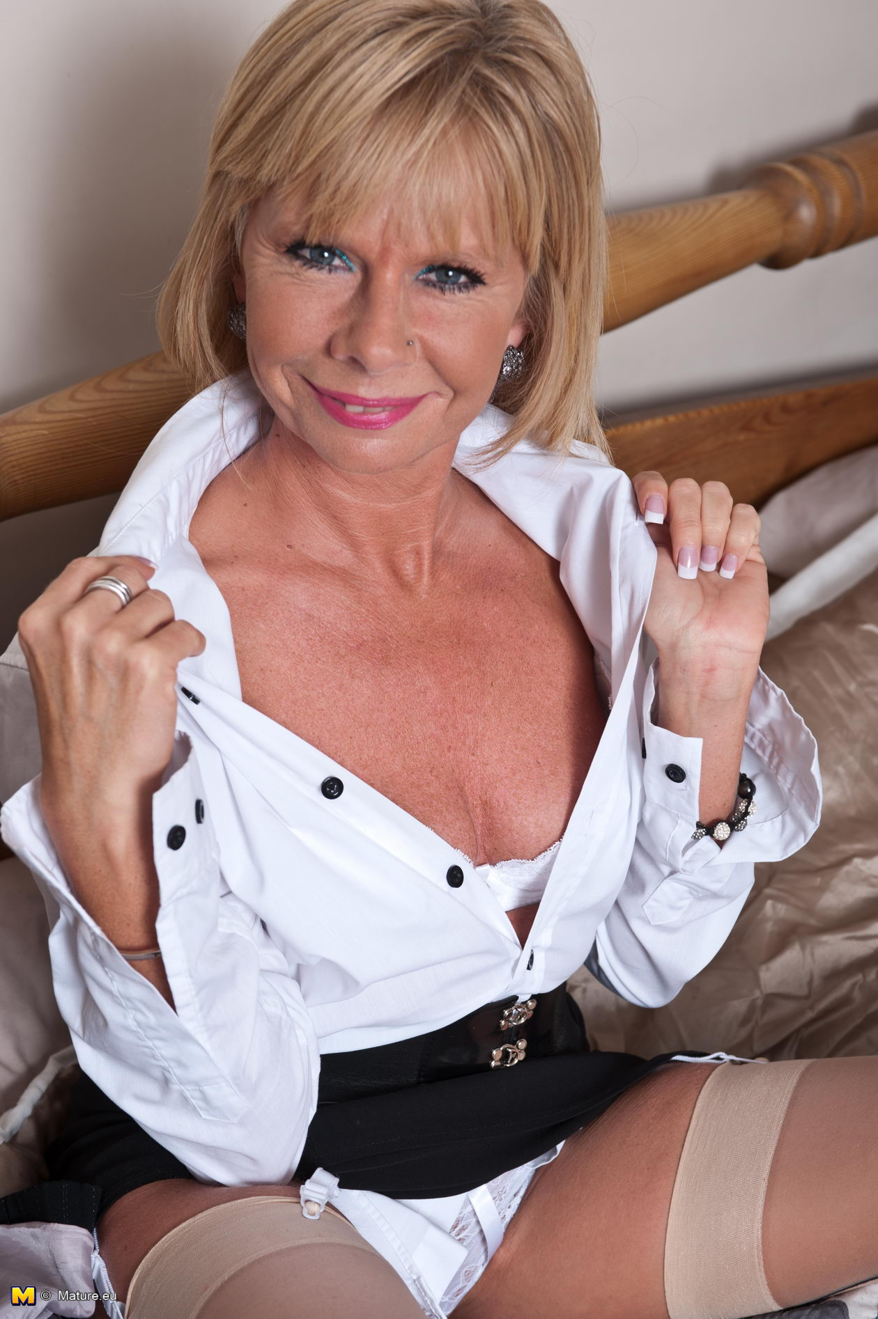British blonde mature lady