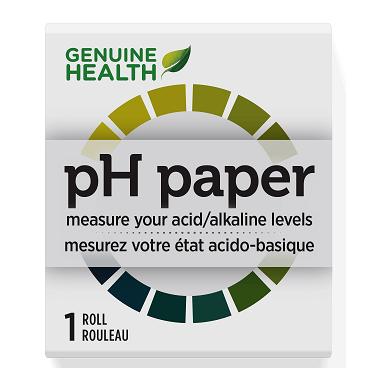 Genuine health ph strips canada
