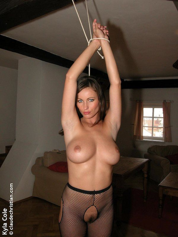 Kyla cole tied and naked