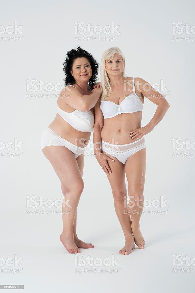 Mature women no panties
