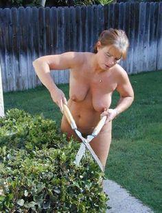 Tumblr nude women doing yard work