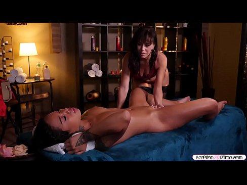 Asian lesbian massage milf